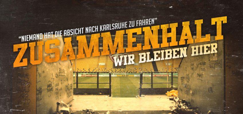 Informationen zum Spiel gegen Karlsruhe