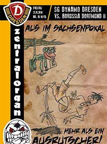 SG Dynamo Dresden vs. Borussia DortmundII
