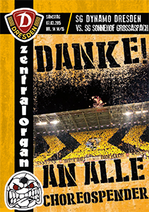 SG Dynamo Dresden vs. Sonnehof Großaspach