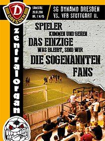 SG Dynamo Dresden vs. VfB StuttgartII