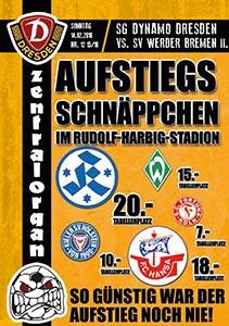 SG Dynamo Dresden vs. Werder BremenII