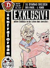 SG Dynamo Dresden — 1. Runde DFB-Pokal