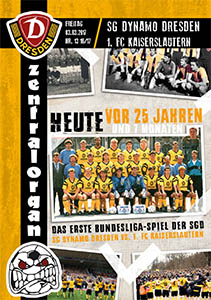 SG Dynamo Dresden vs. 1. FC Kaiserslautern