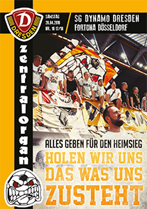 SG Dynamo Dresden vs. Fortuna Düsseldof