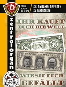 SG Dynamo Dresden vs. SV Sandhausen