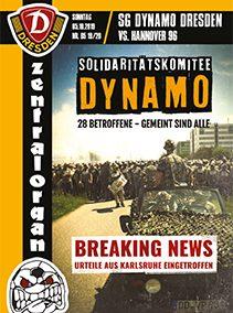 SG Dynamo Dresden vs. Hannover96