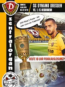 SG Dynamo Dresden vs. 1.  FC Heidenheim