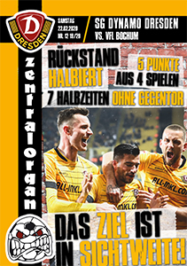 SG Dynamo Dresden vs. VfL Bochum